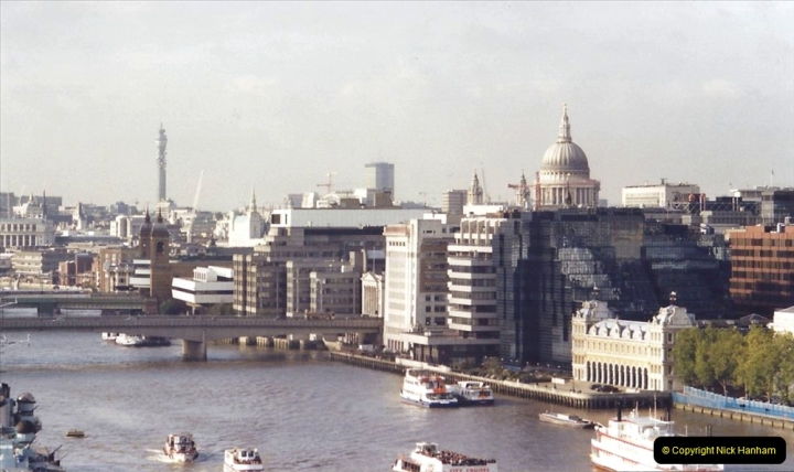 2001 Miscellaneous. (275) View from the top of Tower Bridge. 276