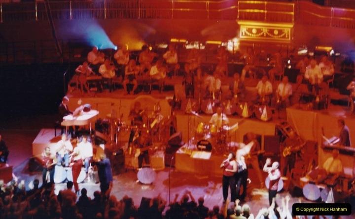 2001 Miscellaneous. (287) James Last concert at the Rpyal Albert Hall, London. 288