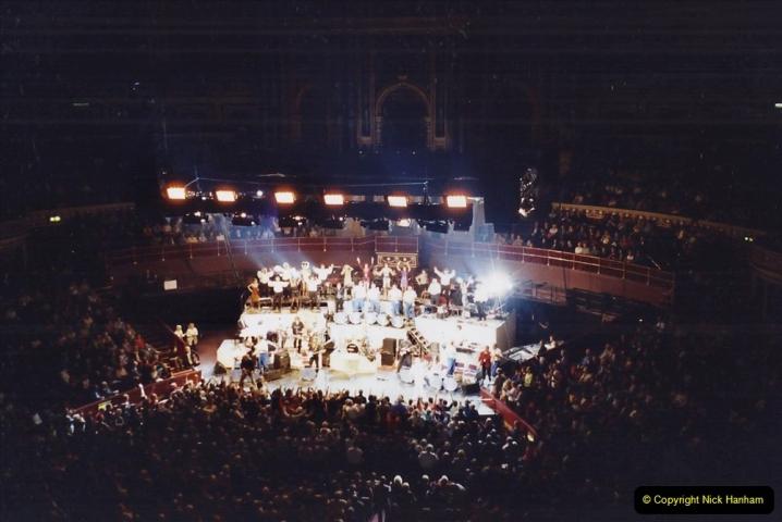2001 Miscellaneous. (288) James Last concert at the Rpyal Albert Hall, London. 289
