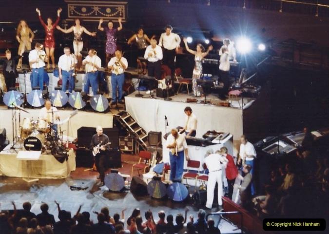 2001 Miscellaneous. (289) James Last concert at the Rpyal Albert Hall, London. 290