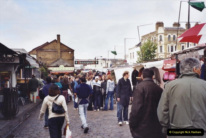 2001 Miscellaneous. (294) Camden Town and Market, London. 295
