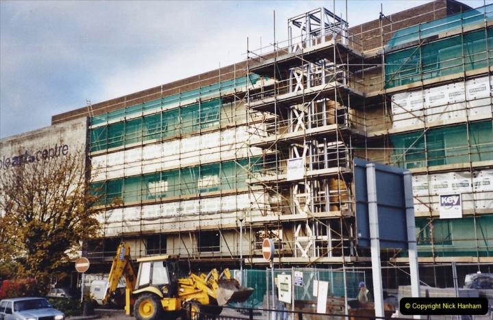 2001 Miscellaneous. (310) The Lighthouse Theatre  Poole, Dorset under renovation.311