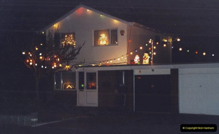 2001 Miscellaneous. (317) Your Host & Wife light up our house for charity at Christmas. 318
