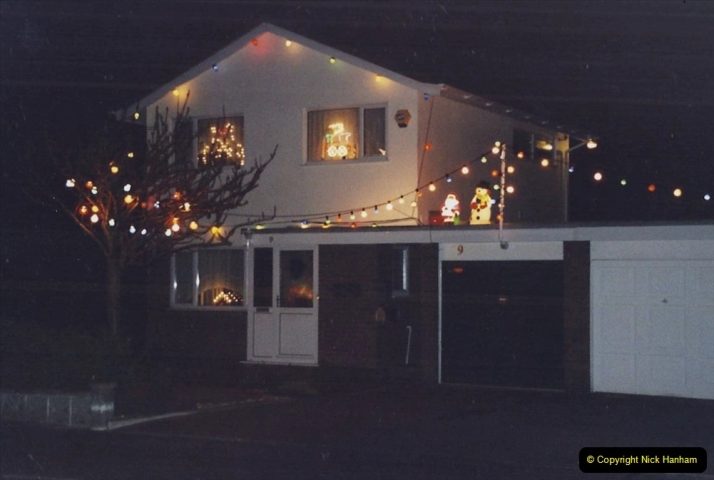 2001 Miscellaneous. (321) Your Host & Wife light up our house for charity at Christmas. 322