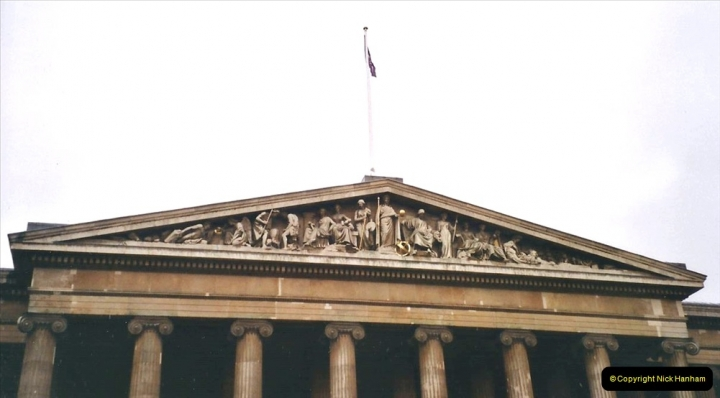 2001 Miscellaneous. (4) London The British Museum.  004