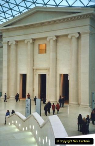2001 Miscellaneous. (5) London The British Museum.  005