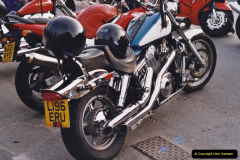 2001 Miscellaneous. (185) Tuesday nights is Bikers Night on Poole Quay, Poole, Dorset. 185