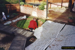 2001 Miscellaneous. (249) Back Garden Improvements. 250