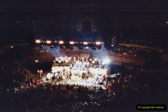 2001 Miscellaneous. (288) James Last concert at the Rpyal Albert Hall, London. 289