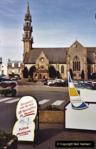 2001 September in France. (11) Carantec. 11