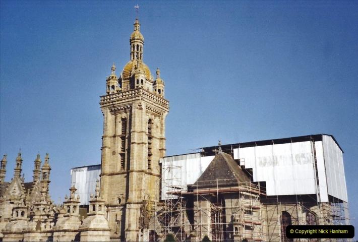 2001 September in France. (16) St. Thegonnec fire damage. 16