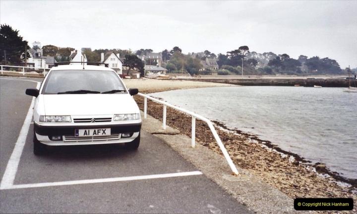2001 September in France. (46) Carantec. 46