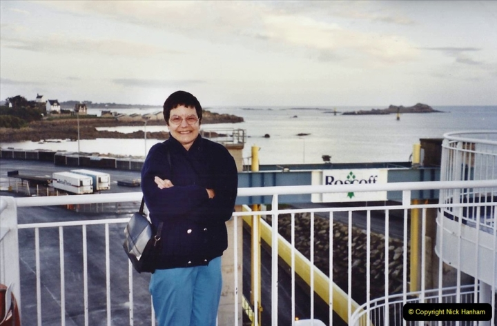 2001 September in France. (56) At Roscoff for the return to Plymouth. 56