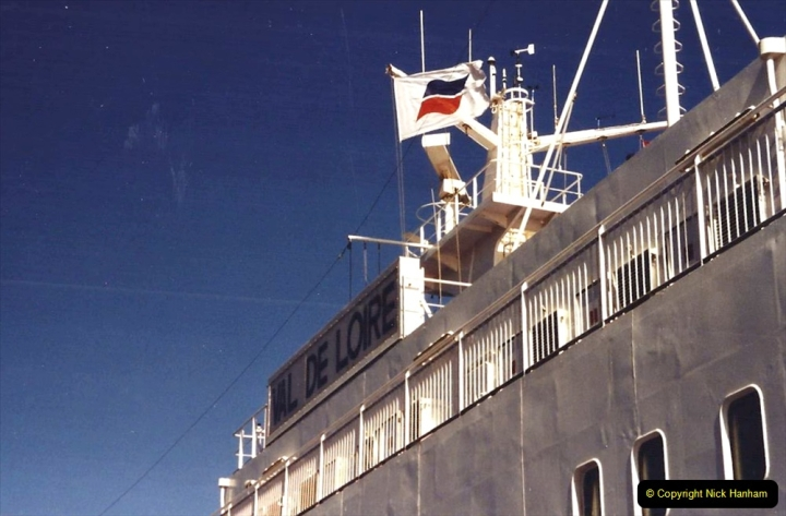 2001 September in France. (61) At Roscoff for the return to Plymouth. 61
