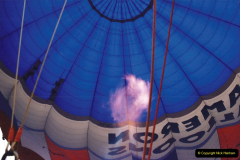 2002 August 19 Balloon Flight over Dorset by your Hosy and Wife. (10) Balloon preparation. 10
