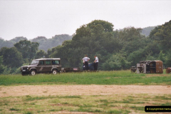 2002 August 19 Balloon Flight over Dorset by your Hosy and Wife. (3) Balloon preparation. 03