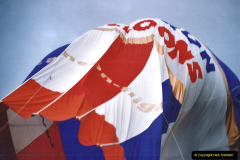 2002 August 19 Balloon Flight over Dorset by your Hosy and Wife. (39) Landing. 39