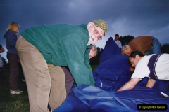 2002 August 19 Balloon Flight over Dorset by your Hosy and Wife. (46) Helping put the balloon away. 46