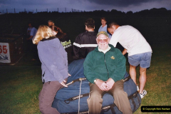 2002 August 19 Balloon Flight over Dorset by your Hosy and Wife. (49) Helping put the balloon away. 49
