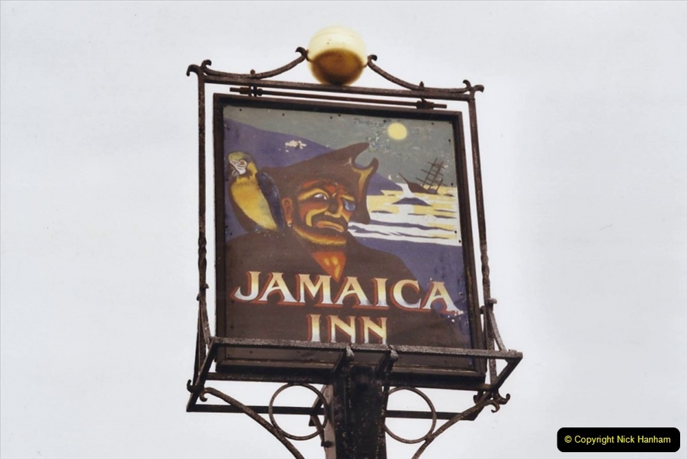 2002 March Cornwall and The Eden Project. (1) The Jamaica Inn Bodmin Moor, Launceston, Cornwall.  01