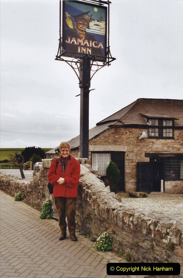 2002 March Cornwall and The Eden Project. (2) The Jamaica Inn Bodmin Moor, Launceston, Cornwall.  02
