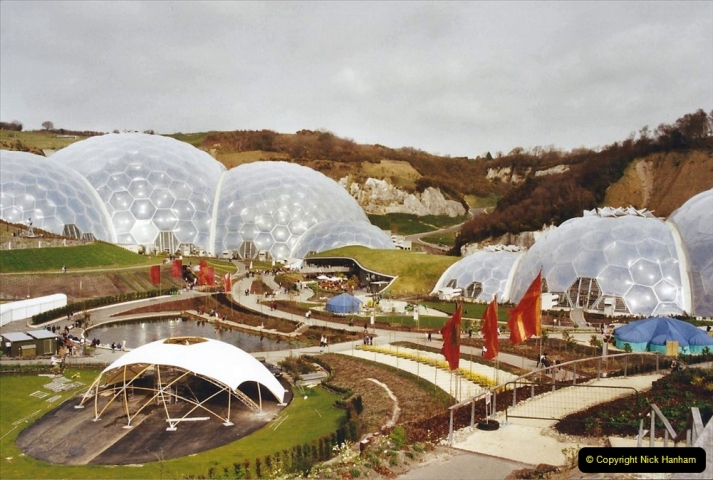2002 March Cornwall and The Eden Project. (21) Bodelve, Cornwall. 21