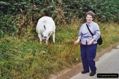 2002 September 04 Taking Llamas for a Walk. (24) 24