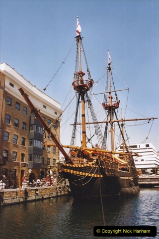 2002 July - London. (12) The Golden Hind. 12