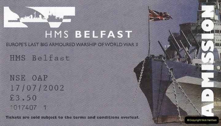2002 July - London. (19) HMS Belfast. 19