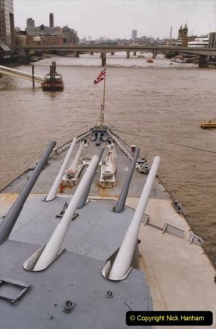 2002 July - London. (20) HMS Belfast. 20