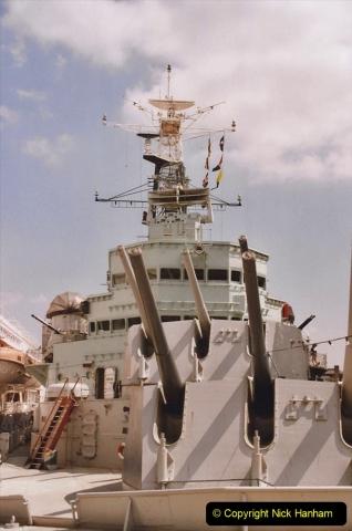 2002 July - London. (26) HMS Belfast. 26