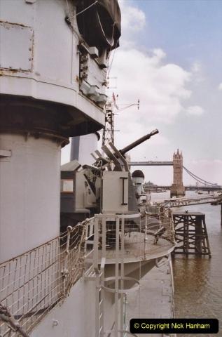 2002 July - London. (27) HMS Belfast. 27