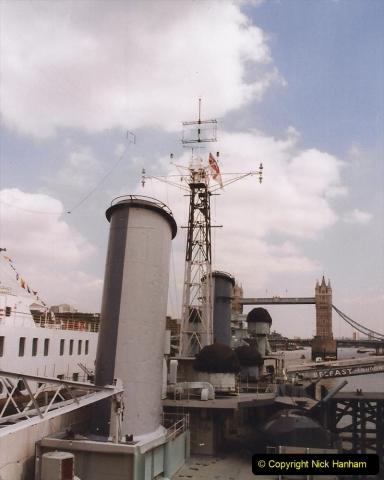 2002 July - London. (29) HMS Belfast. 29