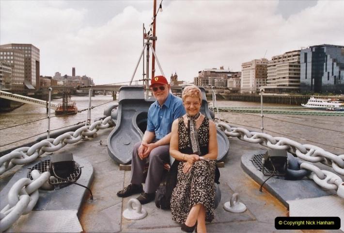 2002 July - London. (31) HMS Belfast. 31
