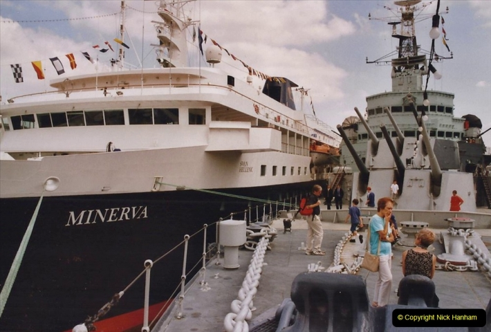 2002 July - London. (32) HMS Belfast. 32