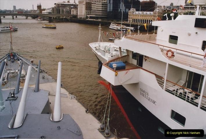 2002 July - London. (33) HMS Belfast. 33