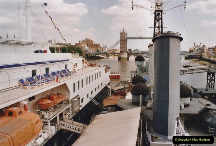 2002 July - London. (34) HMS Belfast. 34