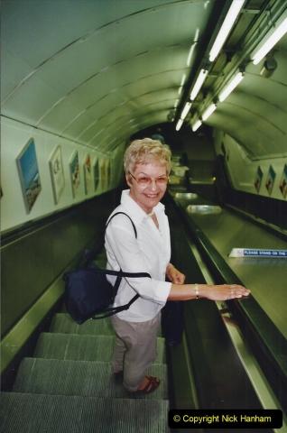 2002 July - London. (59) On the Underground. 59