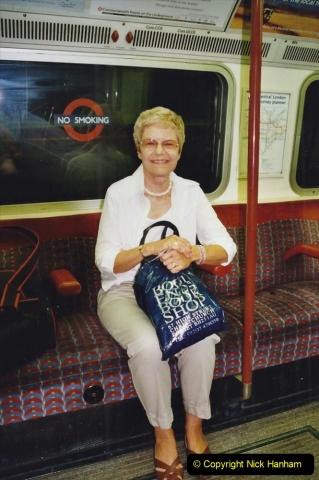 2002 July - London. (60) On the Underground. 60