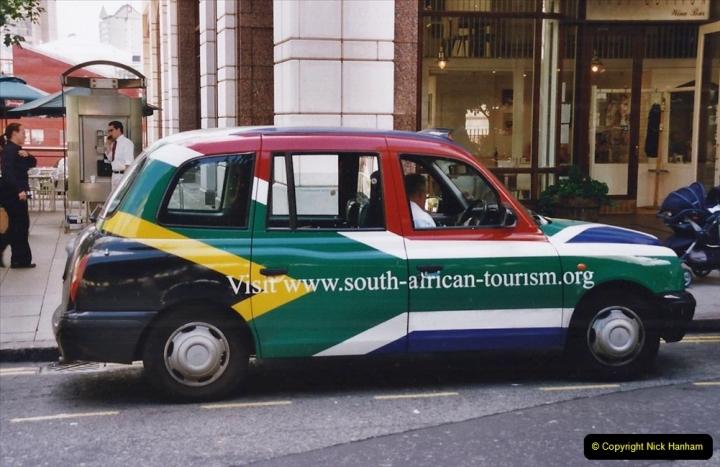 2002 July - London. (67) A London Black Cab.67