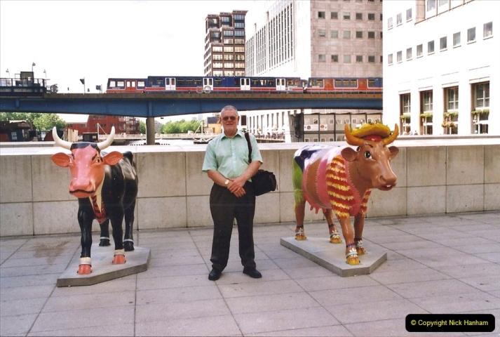 2002 July - London. (68) Canary Wharf. 68