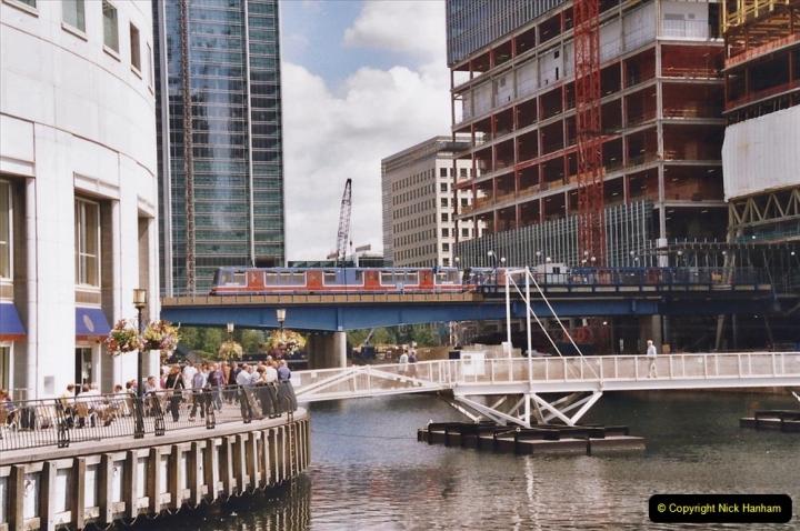 2002 July - London. (70) Canary Wharf. 70