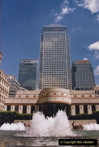 2002 July - London. (73) Canary Wharf. 73