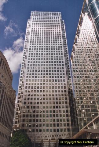 2002 July - London. (74) Canary Wharf. 74