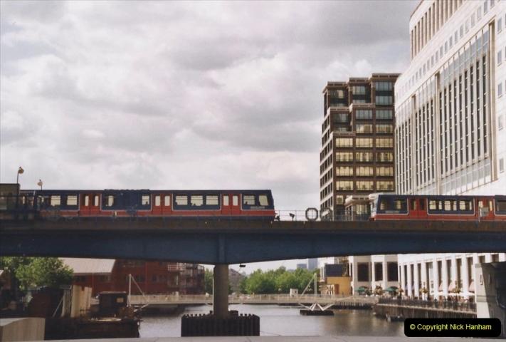 2002 July - London. (75) Canary Wharf. 75