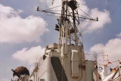 2002 July - London. (25) HMS Belfast. 25
