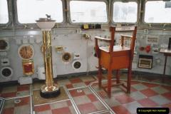 2002 July - London. (37) HMS Belfast. On the Bridge. 37