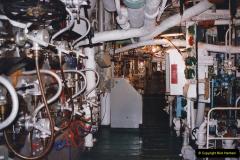 2002 July - London. (44) HMS Belfast Engine Room. 44