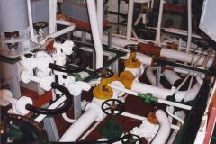 2002 July - London. (46) HMS Belfast Engine Room. 46