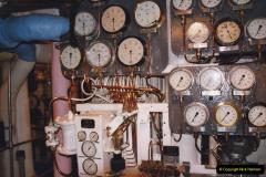 2002 July - London. (49) HMS Belfast Engine Room. 49